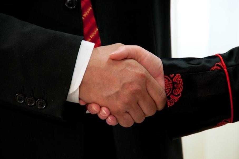 Ведение переговоров в Китае